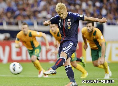 本田選手PK